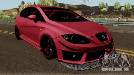 Seat Leon Cupra R para GTA San Andreas vista interior