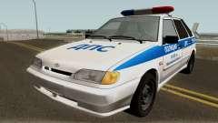 VAZ 2114 Polícia da Região de Yaroslavl para GTA San Andreas