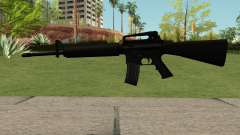 New M4 Black para GTA San Andreas