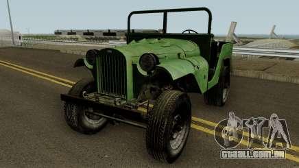 O GAZ-64 um Pigmeu Piloto (R-1) de 1941 para GTA San Andreas