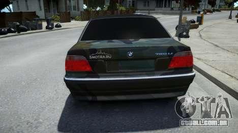 BMW 760Li E38 para GTA 4