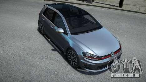 Volkswagen Golf VII GTI para GTA 4