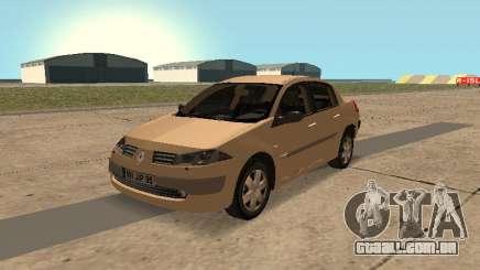 Renault Megane II Sedan 2004 v2.1 para GTA San Andreas