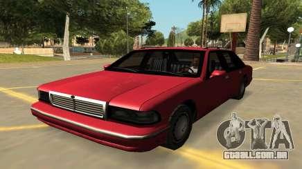 Declasse Premier com Emblemas e Extras para GTA San Andreas