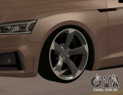 Audi S4 Sportback Rotor para GTA San Andreas