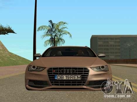 Audi S4 Avant B8.5 para GTA San Andreas