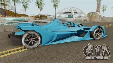 Spark SRT05e (Formula E) 2018 para GTA San Andreas