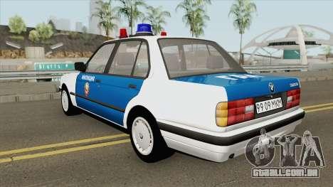 BMW E30 (Police) 1988 para GTA San Andreas