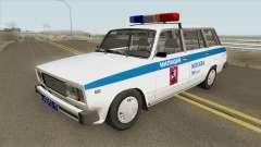 VAZ 2104 (Polícia de Moscou) para GTA San Andreas