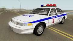 Ford Crown Victoria (Moscow Police) 1997 para GTA San Andreas