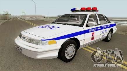 Ford Crown Victoria (Moscow Police) 1997 para GTA San Andreas