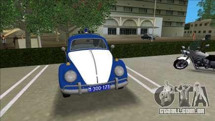 Volkswagen Beetle SFR Yugoslav Milicija (police) para GTA Vice City