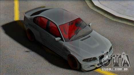 BMW E46 Sedan WideBody para GTA San Andreas