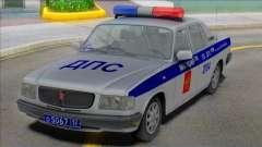 Gaz Volga 3110 Polícia DPS 2000 para GTA San Andreas
