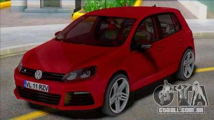 Volkswagen Golf 6 R 4 portas para GTA San Andreas