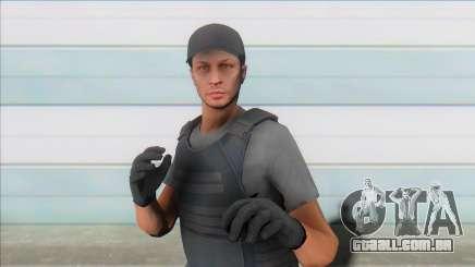 GTA Online Skin (swat) para GTA San Andreas