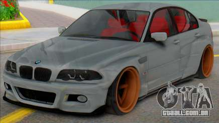 BMW E46 Sedan WideBody para GTA San Andreas