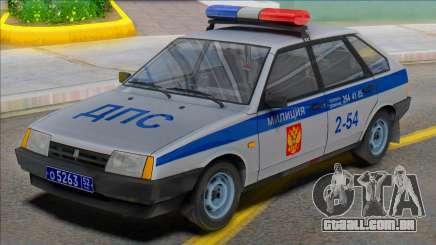Polícia de Vaz-2109 2002 para GTA San Andreas