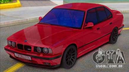 BMW E34 M5 1992 para GTA San Andreas