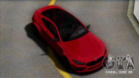 BMW M8 para GTA San Andreas