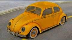 Volkswagen Beetle 1966 Yellow