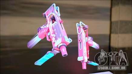 CS GO Mac-10 Neon Rider para GTA San Andreas