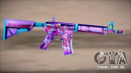 M4A4 NEON RIDER II para GTA San Andreas