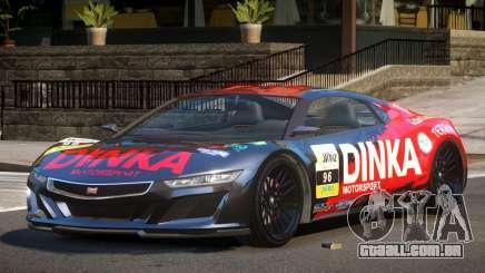 Dinka Jester Racecar L1 para GTA 4
