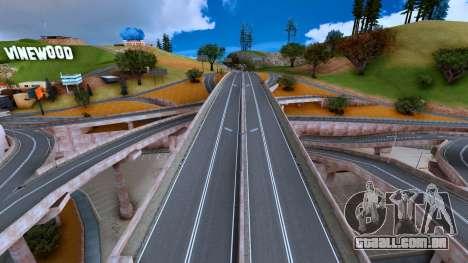 Alpha Roads Mod para GTA San Andreas