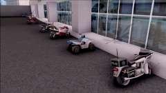 Doherty Parked Bikes para GTA San Andreas