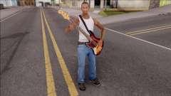 Bass Guitar The Witcher OST para GTA San Andreas