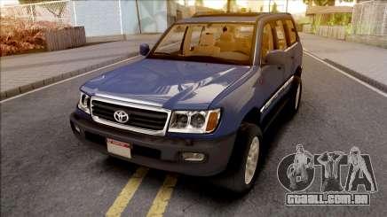 Toyota Land Cruiser Series 100 para GTA San Andreas
