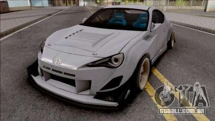 Toyota GT86 Uras GT para GTA San Andreas