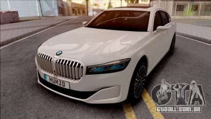 BMW M750Li G12 2019 para GTA San Andreas