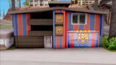 FC Barcelona House of Fans para GTA San Andreas