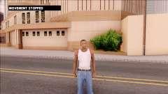 No Movement Mod para GTA San Andreas