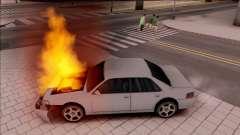Peds Afraid of the Burning Car para GTA San Andreas