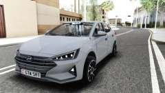 Hyundai Elantra Exclusive 2019 para GTA San Andreas