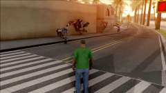 Bike Throw Mod v1.0 para GTA San Andreas