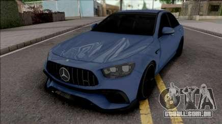 Mercedes-Benz E63 S AMG para GTA San Andreas