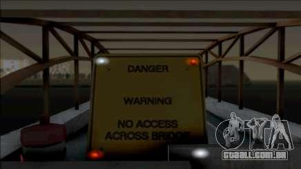 Lighted Barriers para GTA San Andreas