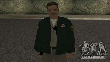 Pele de xerife para GTA San Andreas