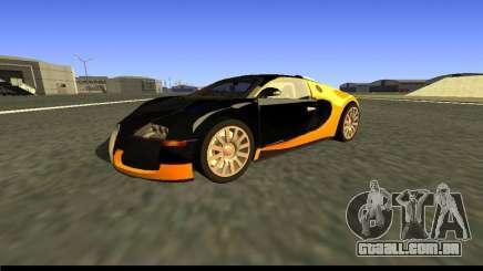 Bugatti Veyron 16.4 Black Gold Carbon [beta] para GTA San Andreas