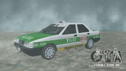 Nissan Tsuru Taxi Xalapa para GTA San Andreas