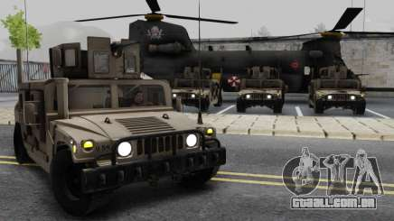 AM GENERAL HUMVEE M1151 EXÉRCITO DO IRAQUE para GTA San Andreas
