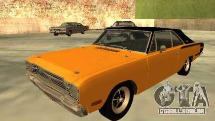 Dodge Charger RT 1971 brasileiro para GTA San Andreas
