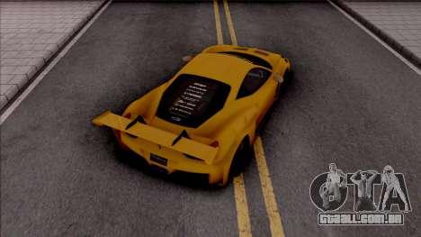 Ferrari 458 Liberty Walk Silhouette GT para GTA San Andreas