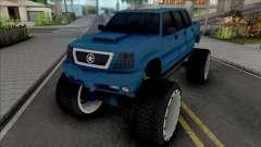 Cavalcade FXT Lifted Truck para GTA San Andreas