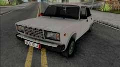 Vaz 2107 Kortec Style Azelow para GTA San Andreas