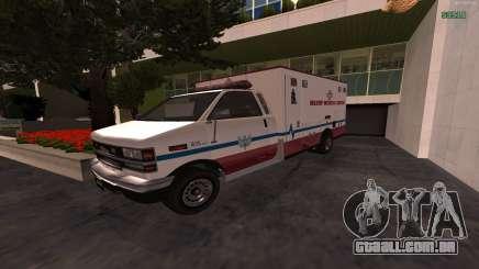 MGCRP AMBULÂNCIA Mod para GTA San Andreas